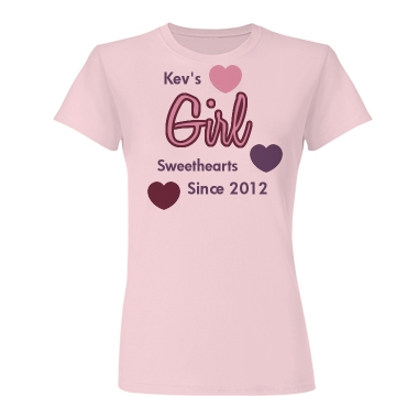 Kev's Girl Junior Fit Basic Bella Favorite Tee