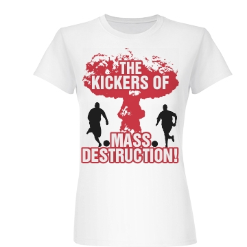 Kickball Team Destruction Junior Fit Basic Bella Favorite Tee