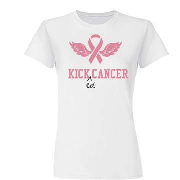 Kicked Cancer Tee