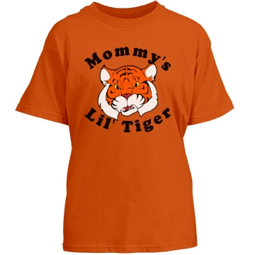 Kid's Tiger Tee Youth Port & Company Essential Tee