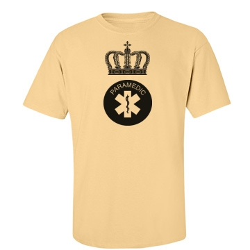 King Paramedic Unisex Gildan Heavy Cotton Crew Neck Tee