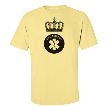 King Paramedic Unisex Port & Company Essential Tee