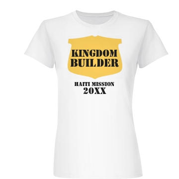 Kingdom Builder Junior Fit Basic Bella Favorite Tee