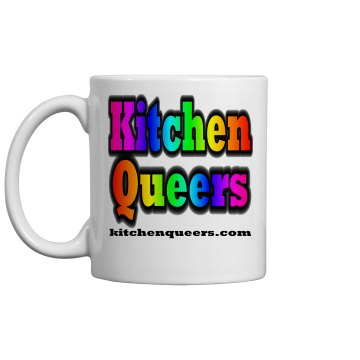 Kitchen Queers logo mug