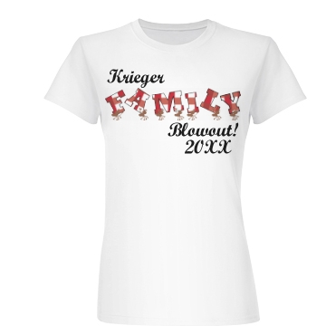 Krieger Family Blowout Junior Fit Basic Bella Favorite Tee