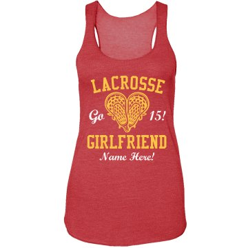 Lacrosse Girlfriend Custom Names & Numbers