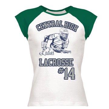Ladies Lacrosse Tee
