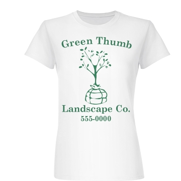 Landscape Company Tee Junior Fit Basic Bella Favorite Tee