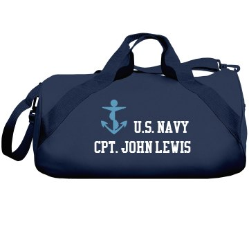 Lewis U.S. Navy Liberty Bags Barrel Duffel Bag