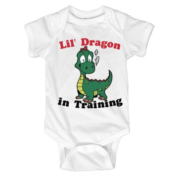 Lil' Dragon in Training