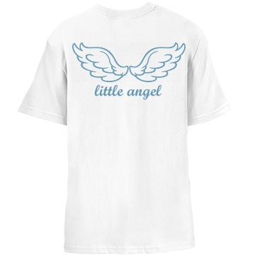 Little Angel Back Wings