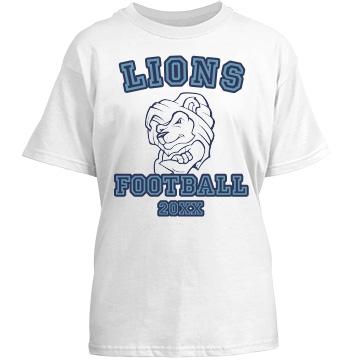 Little Lions Football Fan