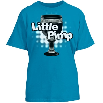 Little Pimp Youth Port & Company Essential Tee