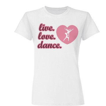 Live Love Dance Heart