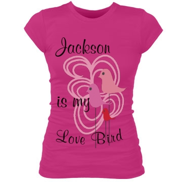 Love Bird Junior Fit Bella Sheer Longer Length Rib Tee