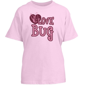 Love Bug Youth Basic Gildan Heavy Cotton Crew Neck Tee