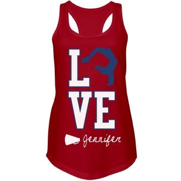 Love Cheer Tank
