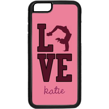 Love Cheerleading iPhone