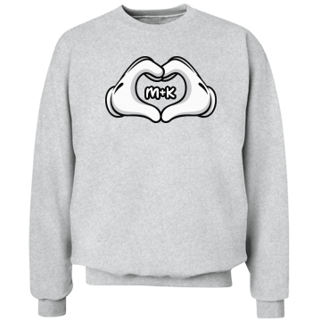 Love Hands Girl Unisex Hanes C