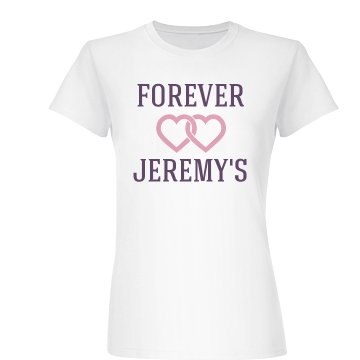 Love Him Forever Junior Fit Basic Bella Favorite Tee