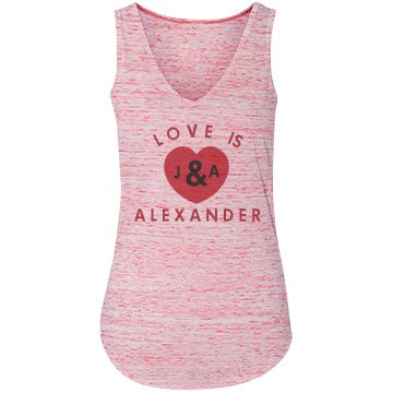 Love Is Bella Flowy Lightweight V-Neck Tank Top