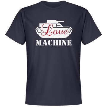 Love Machine Unisex Anvil Lightweight Fashion Tee