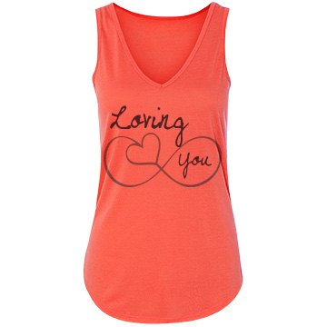 Loving You Bella Flowy Lightweight V-N