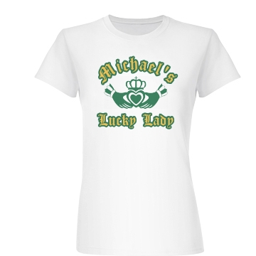 Lucky Lady Junior Fit Basic Bella Favorite Tee
