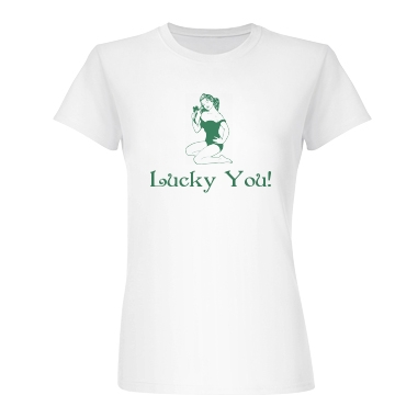 Lucky You Junior Fit Basic Bella Favorite Tee