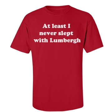 Lumbergh-mens Unisex Port & Company Essential Tee