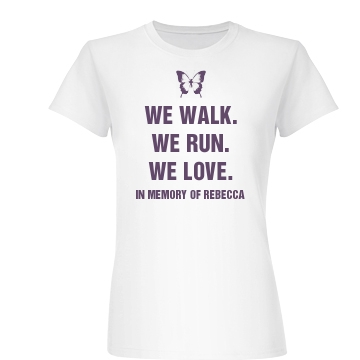 Lupus Memorial Support Junior Fit Basic Bella Favorite Tee