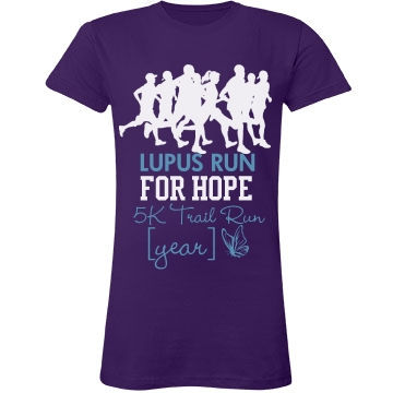Lupus Run for Hope Shi