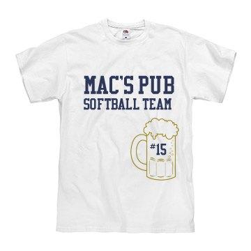 Mac Pub Softball