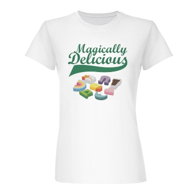 Magically Delicious Junior Fit Basic Bella Favorite Tee