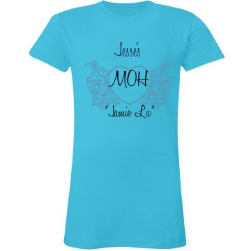 Maid Of Honor Heart Tee