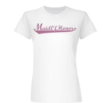 Maid Of Honor Junior Fit Basic Bella Favorite Tee