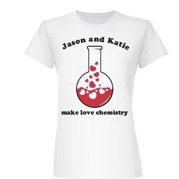 Make Love Chemistry Junior Fit Basic Bella Favorite Tee
