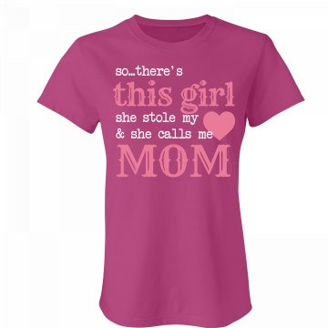Mamas Girl Junior Fit Bella Favorite Tee
