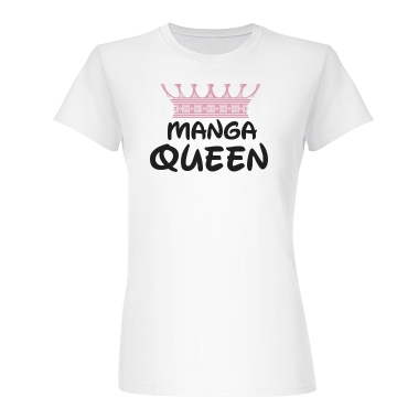 Manga Queen Junior Fit Basic Bella Favorite Tee