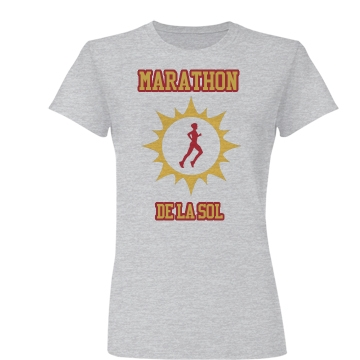 Marathon De La Sol Junior Fit Basic Bella Favorite Tee