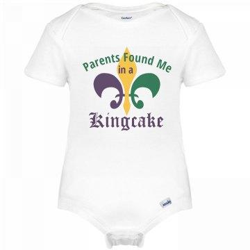 Mardi Gras Kingcake Baby