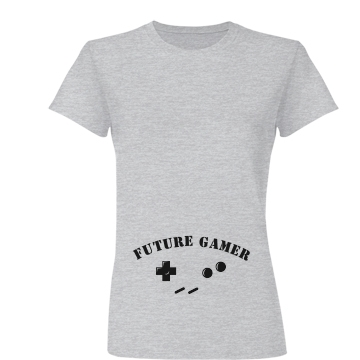 Maternity Future Gamer Junior Fit Basic Bella Favorite Tee