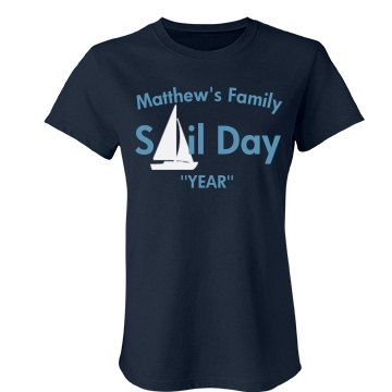 Matthew Family Reunion Junior Fit Bella Favorite Tee