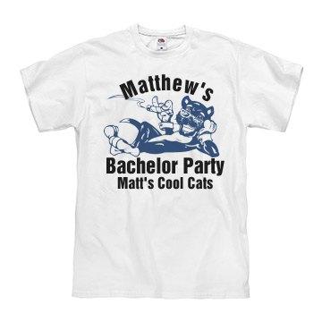 Matt's Bachelor w/ Back
