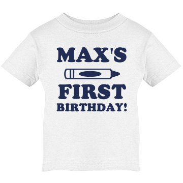 Max's 1st Birthday
