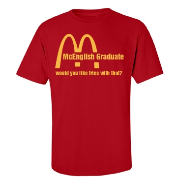 McGraduate Senior Unisex Gildan Heavy Cotton Crew Neck Tee