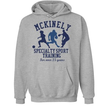 McKinely Sports Training Unisex Hanes Ultimate Cotton Heavyweight Hoodie
