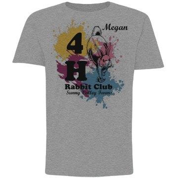Megan's Rabbit Club Tee