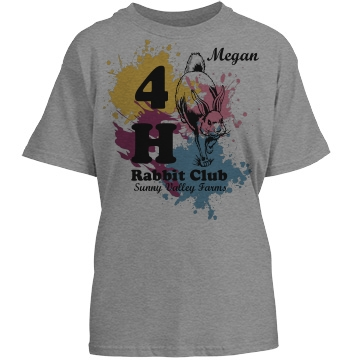 Megan's Rabbit Club Tee