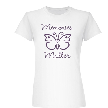 Memories Matter Junior Fit Basic Bella Favorite Tee
